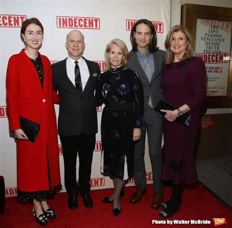 who is isabella huffington boyfriend photo coverage on the opening night red carpet for indecent