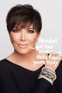 Kris jenner strikes a sexy pose to model her new jewelry collection