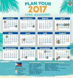 2018 Calendar Philippines This Calendar Will Help You Plan Your 2017 Holidays Abs