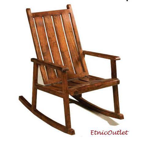 poltrone a dondolo in legno divani etnici e poltrone vintage vendita on line su etnico