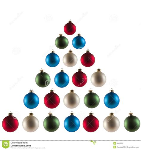 christmas tree spheres stock image image 3669001