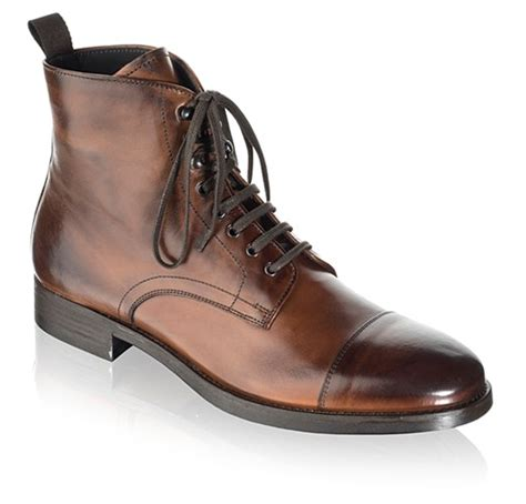 to boot new york s stallworth boots in cognac