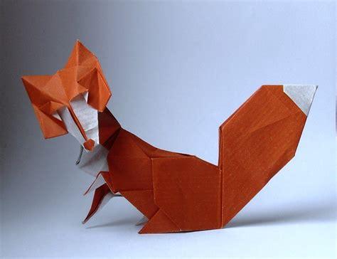 Origami Fox - origami fox by orestigami on deviantart