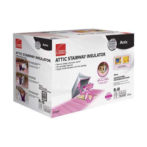 owens box fans owens corning attic stair insulator ii 25 1 2 in x 54 in