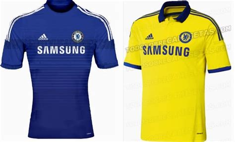 Jersey Chelsea Away 2014 2015 chelsea 2014 2015 home and away jerseys leaked yes we foot sports