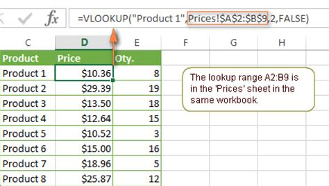 vlookup tutorial from another sheet excel vlookup tutorial for beginners formula exles