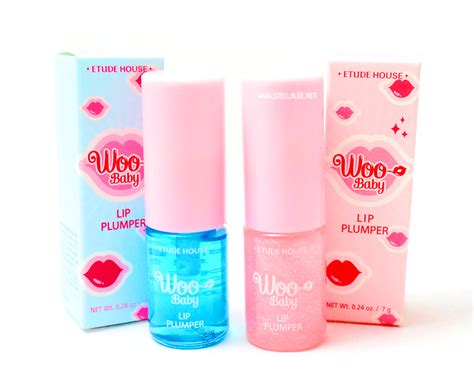 etude house woo baby lip plumper review and swatch stella indonesia and travel