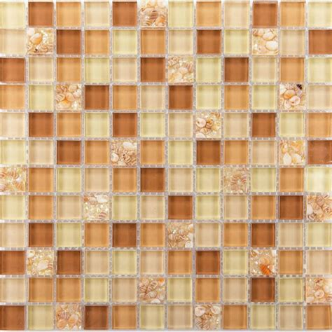 brown pattern tiles brown glass tile backsplash ideas for kitchen walls yellow