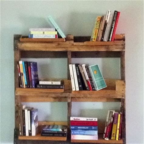 diy bookshelf ideas with pallet wood pallet furniture plans