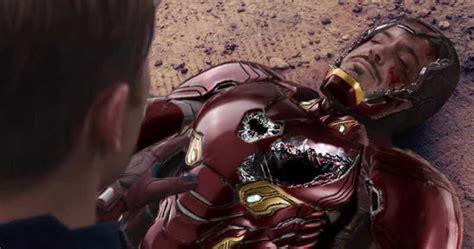 rdj improvised avengers endgame death scene claims