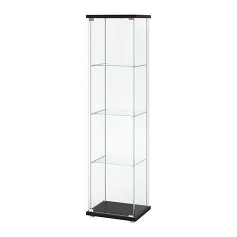 Cabinet Brun by Detolf Vitrineskap Brunsvart Ikea