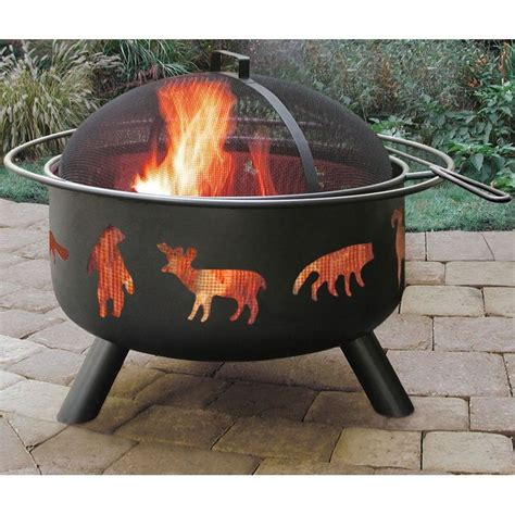 landmann firepit wood burning pit by landmann big sky wildlife