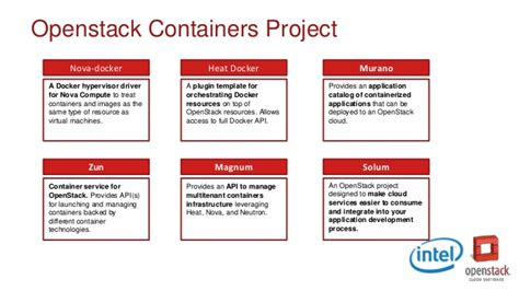 containers in openstack leverage openstack services to make the most of docker kubernetes and mesos books state of containers in openstack