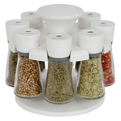 Buy Spice Rack With Spices Buy Cole And 8 Jar Revolving Spice Rack White At