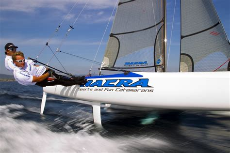 carbon joystick catamaran f20 nacra sailing worlds best catamarans