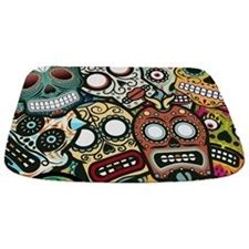 day of the dead bathroom set day of the dead bathroom accessories decor cafepress