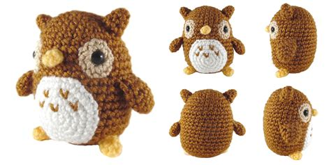 Mini Owl 4 by I Crochet Things Free Pattern Friday Mini Owl Amigurumi