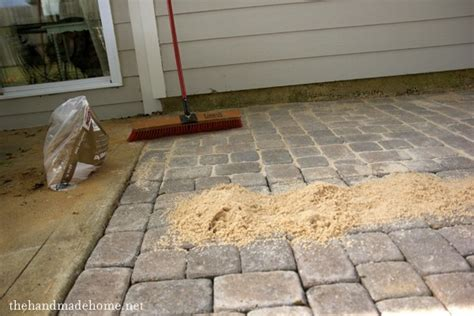 How To Install Patio Pavers Backyard Bliss Installing Patio Pavers And A Pit Diy Patio Diy Pit