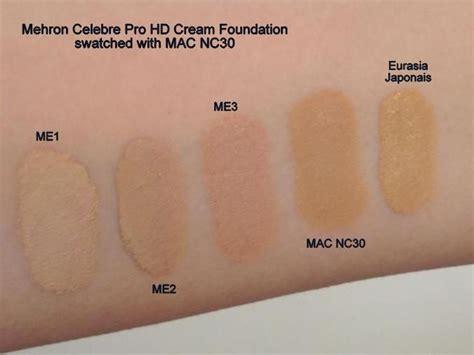 Me Now Pro 3 Colors Bareminieral Matte Foundation Con Diskon mehron celebre hd pro foundation reviews photos