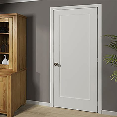 kiby shaker 1 panel wood slab interior door reviews