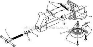bench vise replacement parts wilton 203 1 2m3 parts list and diagram