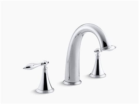 Kohler Finial Deck Mount Bath Faucet K 8673t 4m Cp finial traditional deck mount high flow bath faucet trim k t314 4m kohler