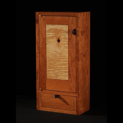 custom bathroom wall cabinets custom made cherry maple wall cabinet by blackstone design