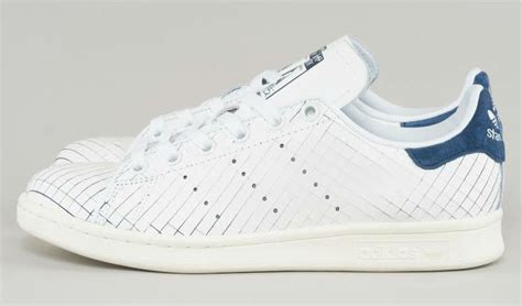 Original Adidas Stan Smith Shoes Sepatu S32259 adidas stan smith sliced leather white navy s32259 sole collector
