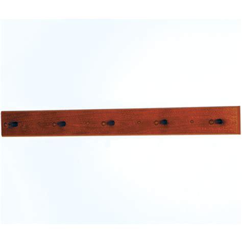 Wood Peg Coat Rack by Hcr 5w Mh 5 Wood Peg Coat Rack Mahogany Finish