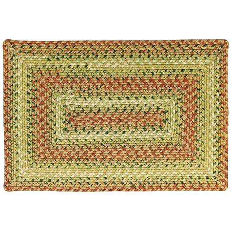 Rectangle Area Rugs Tuscany Ultra Durable Braided Area Rugs Indoor Outdoor Oval Rectangle 20x30 8x10