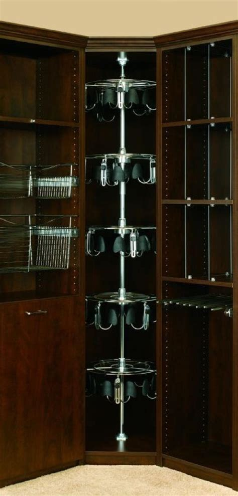 Closet Carousel by Revashelf 5 Shelf Mens Lazy Shoe Zen Closet Organizer