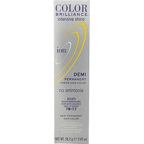 ion demi permanent hair color ion color brilliance intensive shine demi permanent creme