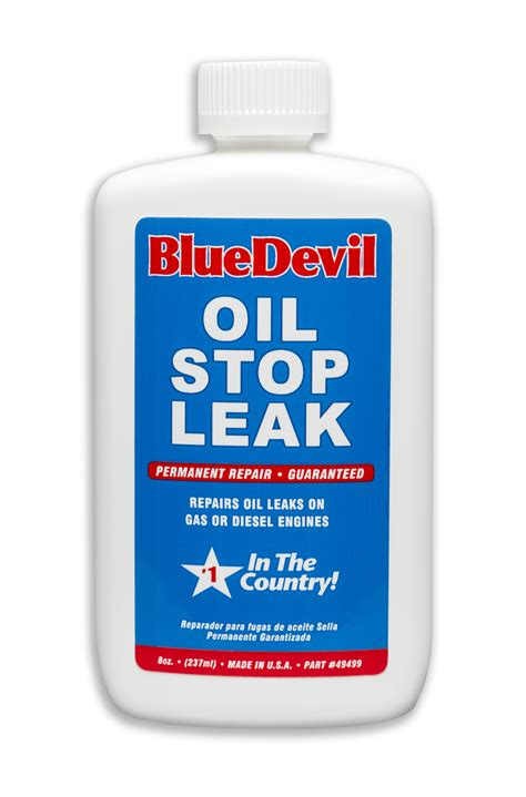 how to stop a from leaking bluedevil oil stop leak bluedevil products