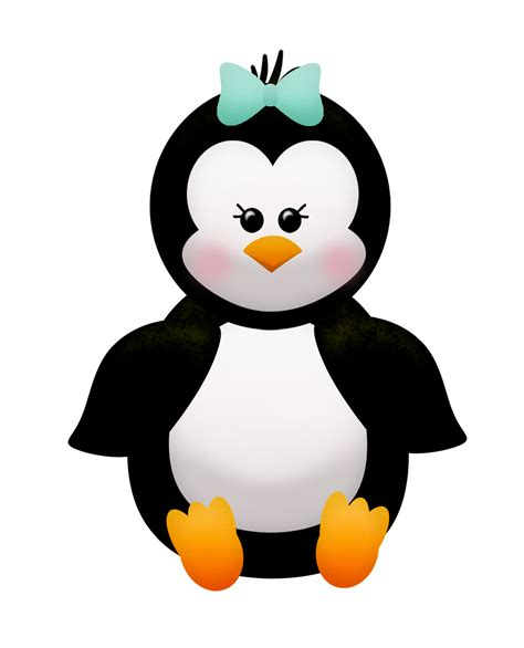penguins clipart penguin clip image black and white