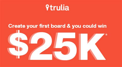 Trulia Sweepstakes - trulia win a check for 15 000 and a 10 000 merchandise giveawayus com