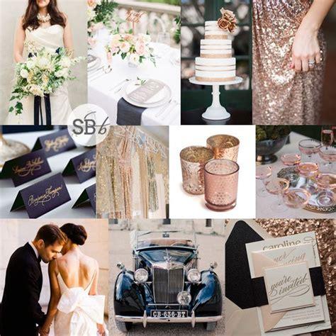 Inspiration Board: Navy & Rose Gold   wedding please