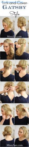 20shair tutorial tuck and cover great gatsby style