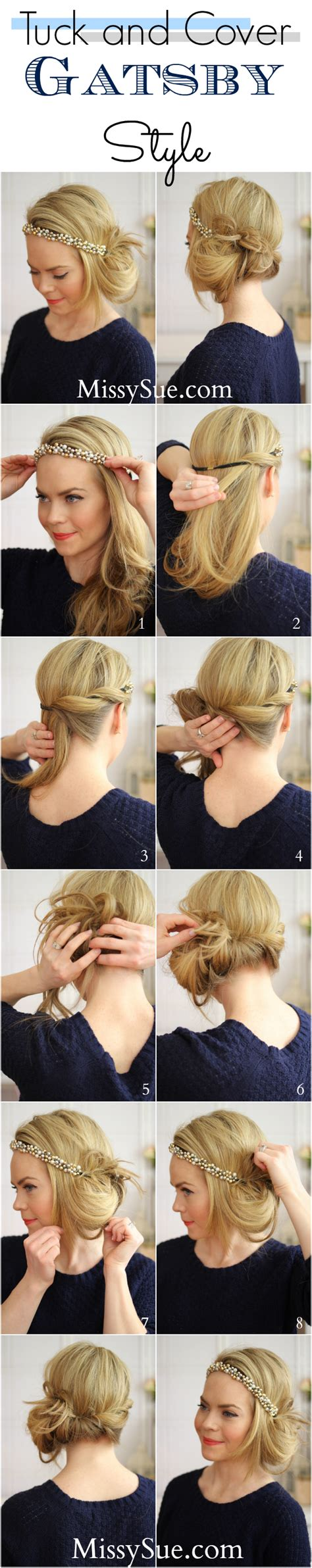 Great Gatsby Hairstyles by Great Gatsby Hairstyles For Hair Hairstyle 2013