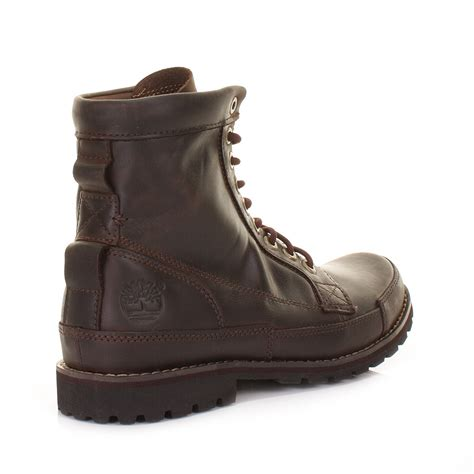 timberland earthkeepers rugged 6 inch brown burnished