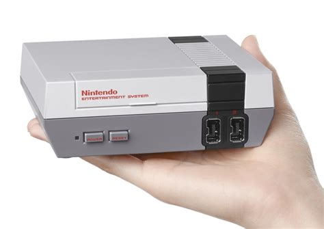 mini console nes classic mini console teaser trailer released