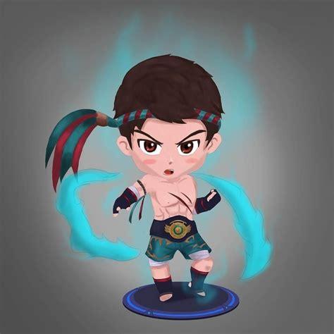 chou mobile legend animasi chou mobile legend