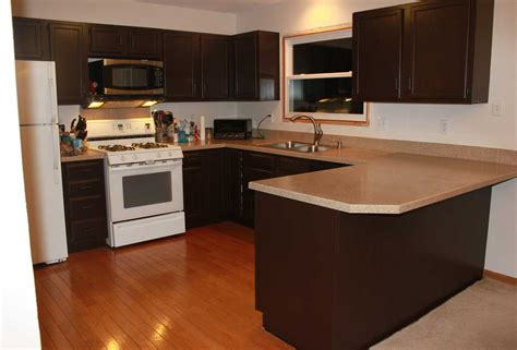 painting kitchen cabinets dark brown best paint color for kitchen with white wall color and