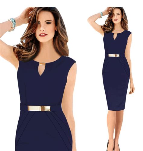 design dress office 2015 office lady dress sexy bodycon waist design dress