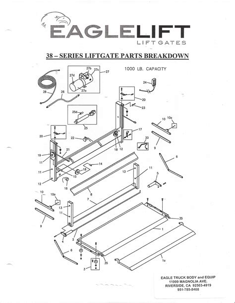 eagle lift wiring diagram wiring diagram schemes