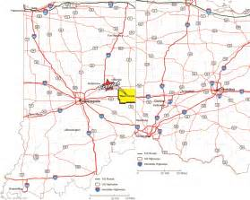 Indiana Ohio Map by About Our City