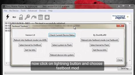 tutorial flash tool xperia tutorial how to flash kernel using flashtool for sony