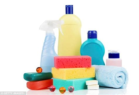 chemicals in household cleaning products increase the
