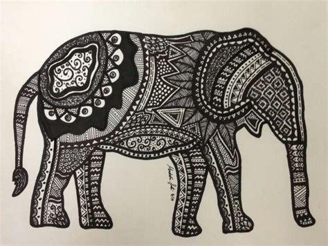 tattoo elephant aztec aztec elephant dream house