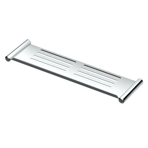 Chrome Shower Shelf by Gatco 19 In W Shower Shelf In Chrome 1460 The