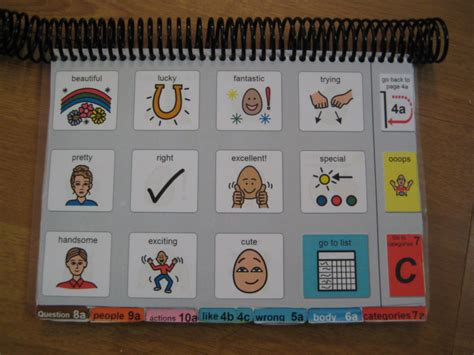 picture communication book how i do it using podd books and aided language displays